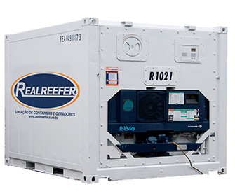 Container Frigorífico ( Reefer ) 10' - Realreefer - Locação de Containers e Gensets