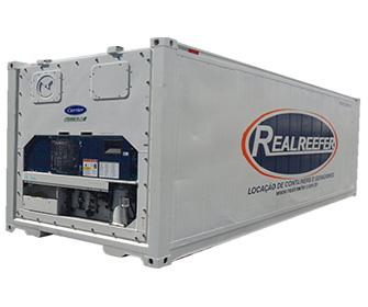 Container Frigorífico ( Reefer ) 20' - Realreefer - Locação de Containers e Gensets