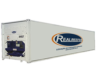 Container Frigorífico ( Reefer ) 40' - Realreefer - Locação de Containers e Gensets