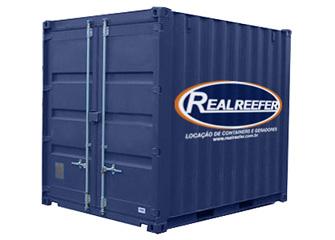 Dry Containers 10' - Realreefer - Locação de Containers e Gensets