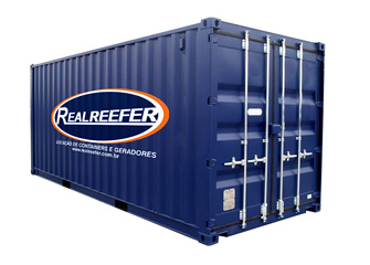 Dry Containers 20' - Realreefer - Locação de Containers e Gensets