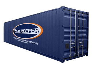 Dry Containers 40' - Realreefer - Locação de Containers e Gensets