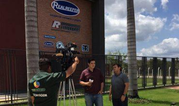 Realreefer participa de matéria na TV Diário - Realreefer locação e venda de containers